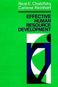 Effective Human Resource Development