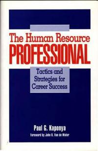 The Human Resource Professional