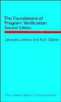 The Foundations of Program Verification