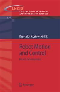 Robot Motion And Control