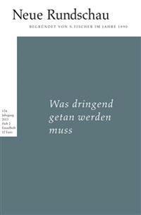 Neue Rundschau 2013/3