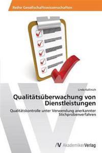Qualitatsuberwachung Von Dienstleistungen