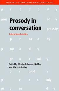 Prosody in Conversation