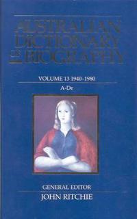 Australian Dictionary of Biography 1940-1980