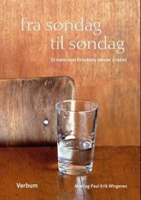 Fra søndag til søndag - Mari Wirgenes, Paul Erik Wirgenes pdf epub