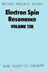 Electron Spin Resonance/Volume 12B