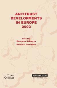 Antitrust Developments in Europe, 2002