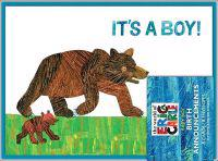 The World of Eric Carle Baby Boy Birth Announcements