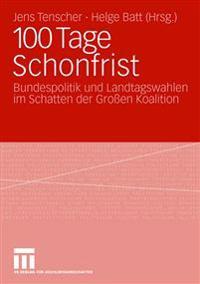 100 Tage Schonfrist: Bundespolitik Und Landtagswahlen Im Schatten Der Groen Koalition