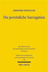 Die Personliche Surrogation