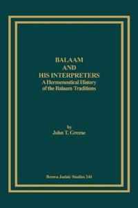Balaam and His Interpreters