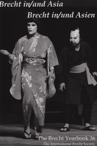 Brecht In/and Asia/ Brecht in /Und Asien