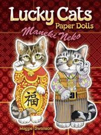 Lucky Cats Paper Dolls: Maneki Neko