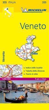 Veneto Michelin 355 delkarta Italien : 1:200000