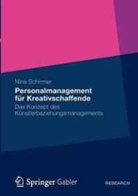 Personalmanagement F r Kreativschaffende