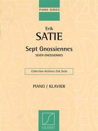 Seven Gnossiennes: Piano Solo
