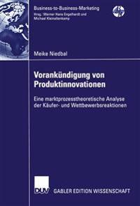 Vorankundigung Von Produktinnovationen
