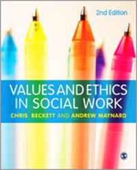 essays ethics and values in social work Essays ethics in social work practice and the term values are an integral part of social work social worker's values and ethics are intended to help.