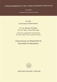 Untersuchung Von Wasserstoff Als Brennstoff Für Ottomotoren