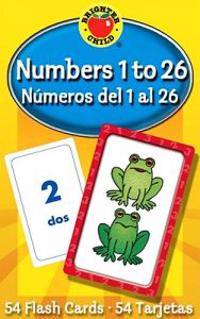 Numbers 1 To 26 / Numeros del 1 al 26