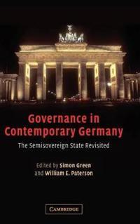 Governance In Modern Germany