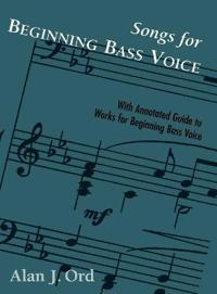 Songs for Beginning Bass Voice