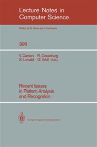 Recent Issues in Pattern Analysis and Recognition