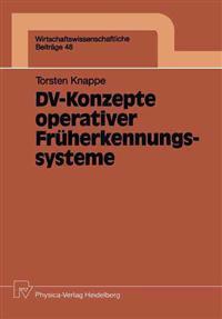 DV-Konzepte Operativer Fruherkennungssysteme