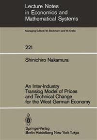 An Inter-Industry Translog Model of Prices and Technical Change for the West German Economy