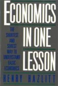 Economics In One Lesson - Henry Hazlitt - böcker (9780517548233)     Bokhandel