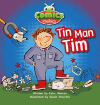 Bug Club Comics for Phonics Set 01-02 Pink A Tin-Man Tim