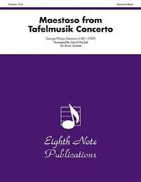 Maestoso (from Tafelmusik Concerto): Score & Parts