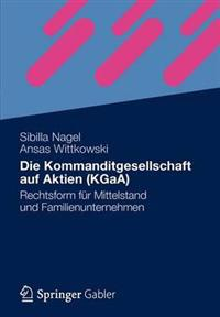 Die Kommanditgesellschaft Auf Aktien Kgaa