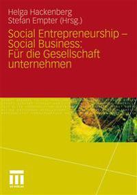Social Entrepreneurship - Social Business