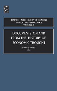 Documents on and from the History of Economic Thought