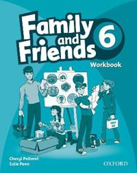 Family and Friends: 6: Workbook