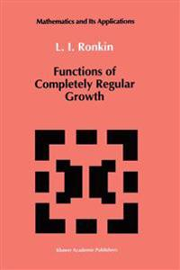 Functions of Completely Regular Growth
