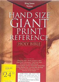 Giant Print Reference Bible-KJV