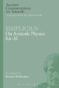 Simplicius - On Aristotle Physics 8.6-10