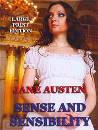 Sense and Sensibility - Large Print Edition