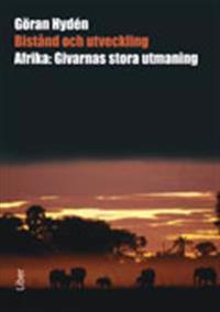 Bistånd och utveckling : Afrika: givarnas stora utmaning