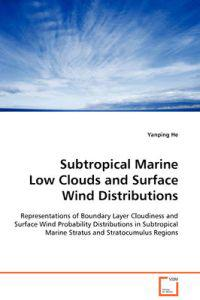 Subtropical Marine Low Clouds and Surface Wind Distributions