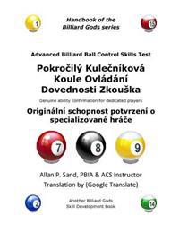 Advanced Billiard Ball Control Skills Test (Czech): Genuine Ability Confirmation for Dedicated Players