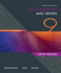 Accounting: Basic Reports