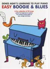 Denes agays learning to play piano - boogie & blues