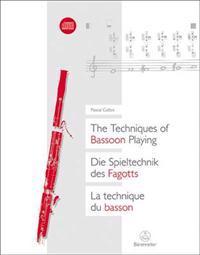 Die Spieltechnik des Fagotts