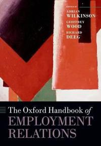 The Oxford Handbook of Employment Relations