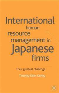 International Human Resource Management in Japanese Firms