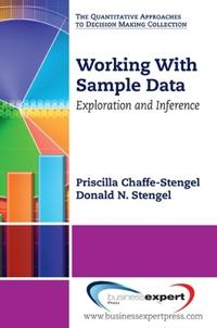 Working With Sample Data