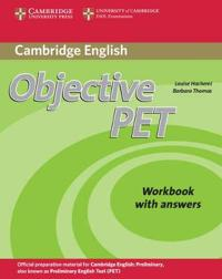 Cambridge Objective Pet Workbook with Answers